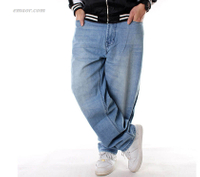 Best Jeans for MenHIPHOP Denim Pants Men HIPHOP Hip-hop Clothing Wide Leg Jeans Hot Men's Jeans on Sale