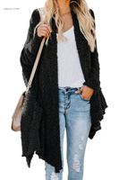 China Wholesale Sweaters & Cardigans Winter Baggy Cardigan Coat on Sale