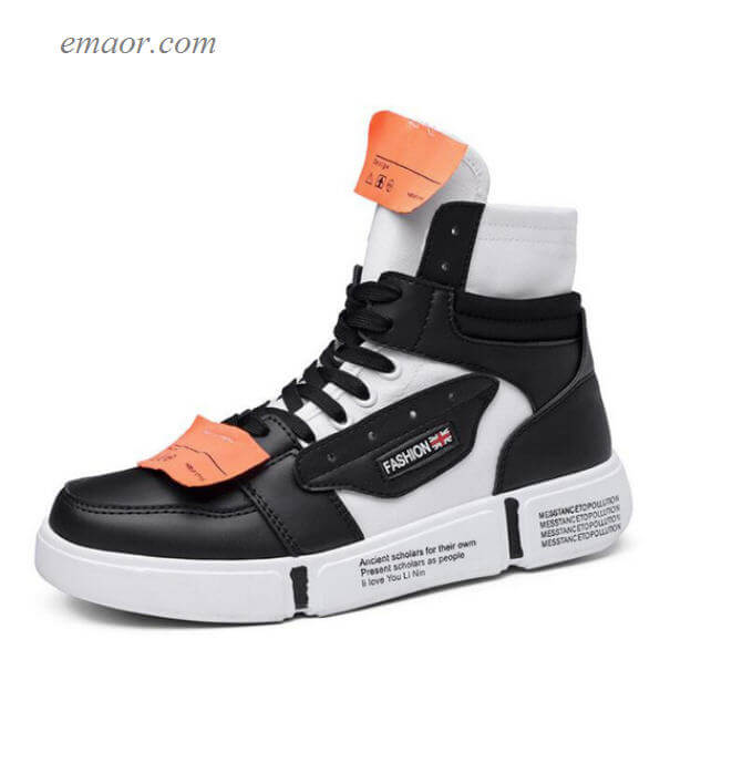 Men's Designer Shoes Outdoor Shoes Running Shoes Cool Basketball Shoes Men's High Top Sneakers