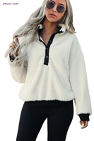 Outerwear Aero Quality Outerwear Fleece Pullover Sweatshirt All Weather Outerwear