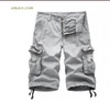 Hot Cargo Shorts Tactical Homme Shorts Casual Solid Multi-Pocket Men's Cargo Shorts Pants