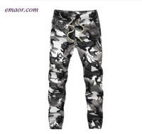 Camouflage Military Cargo Pants Cotton Men's Cargo Jogger Autumn Pencil Harem Pants